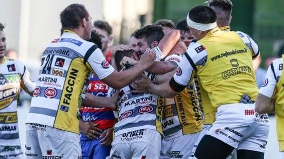 Rugby, Calvisano campione d'Italia: Rovigo cede in finale