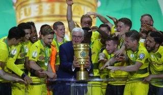 Coppa di Germania al Borussia Dortmund: Eintracht battuto in finale