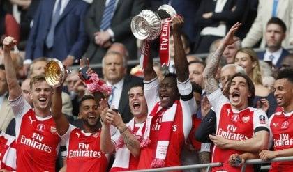 Niente double per Conte e il Chelsea L'Arsenal si prende la FA Cup