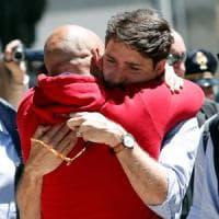 """Amatrice, Trudeau: """"Vi porto l'amicizia del popolo canadese"""". Alfano: """"Gesto di grande..."""
