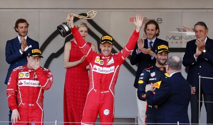 Doppietta Ferrari: vince Vettel, Raikkonen 2°   ft