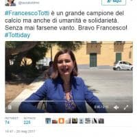 #TottiDay, il tributo sui social network di vip e calciatori