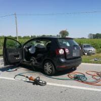 Udine, frontale tra due auto: due morti e tre feriti gravi