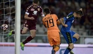 Torino-Sassuolo 5-3, i granata tornano a sorridere in casa