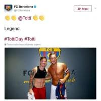 #TottiDay, da Beckham a Renzi: l'omaggio di calciatori, attori e politici sui social network