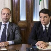 """Legge elettorale, Alfano: """"Impazienza del Pd costerà miliardi all'Italia"""""""