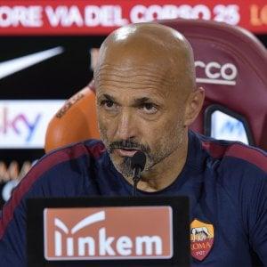 Spalletti saluta la Roma: ''Non meritavo quei fischi. Totti? Nessuna divisione, l'ho fatto giocare un anno in più''