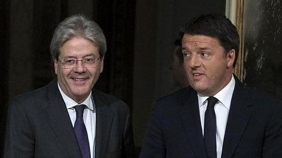 """Renzi super presente in tv, ma Gentiloni è """"il più serio e onesto"""". Il presidente Mattarella al top della fiducia: 37%"""