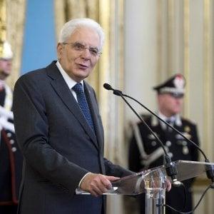 """Legalità e coesione sociale, l'appello di Mattarella: """"Femminicidio, omofobia e bullismo piaghe intollerabili"""""""