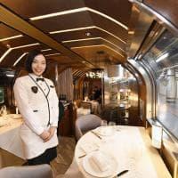 Giappone. Ecco il treno da crociera