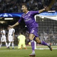 Juventus-Real Madrid 1-4, Ronaldo