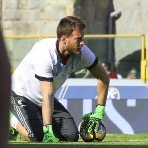 Lazio, tre big restano in bilico: Marchetti parte, idea Neto e Perin