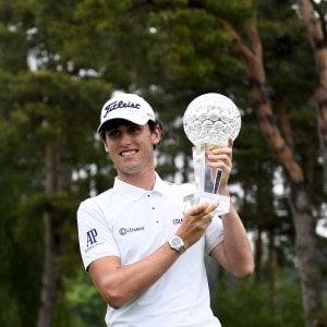Golf, primo titolo per Paratore: il Nordea Masters è suo