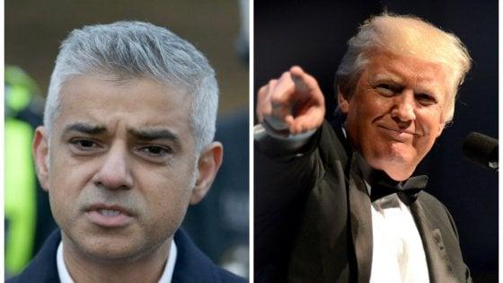 Trump attacca il sindaco di Londra. Proteste tra gli inglesi, l'ambasciata Usa si dissocia
