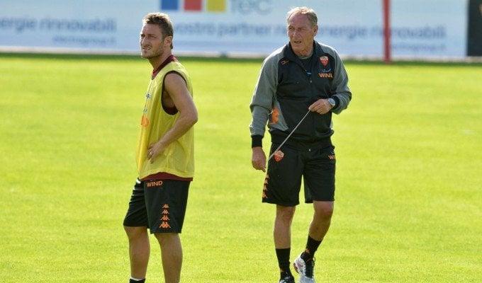 """Pescara, Zeman: """"Totti vuole continuare a giocare. Io un provino glielo farei..."""""""