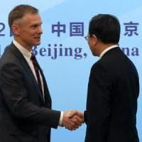 Ambiente: dimissioni dell'ambasciatore reggente Usa in Cina per protesta contro Trump