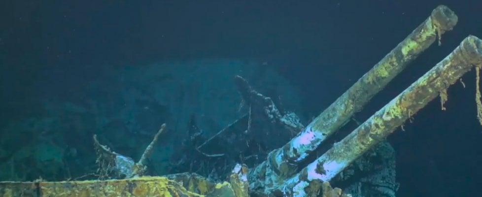 The story of 'Artigliere': the wreckage found at the bottom of the Mediterranean 77 years later