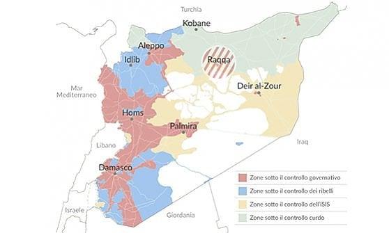 Siria, iniziata la grande battaglia per liberare Raqqa dall'Isis