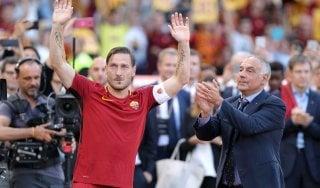 """Il rilancio di Totti: """"Non è detto che abbia finito di giocare definitivamente"""""""