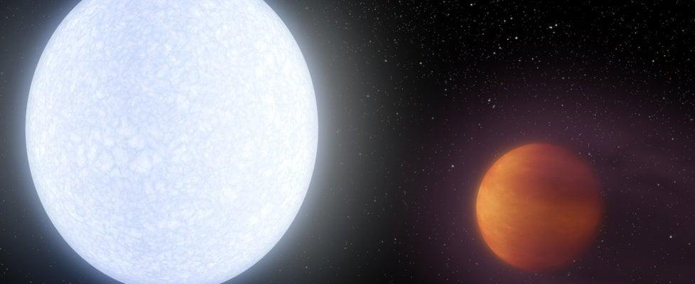 Scoperto un pianeta infernale, è più rovente di molte stelle