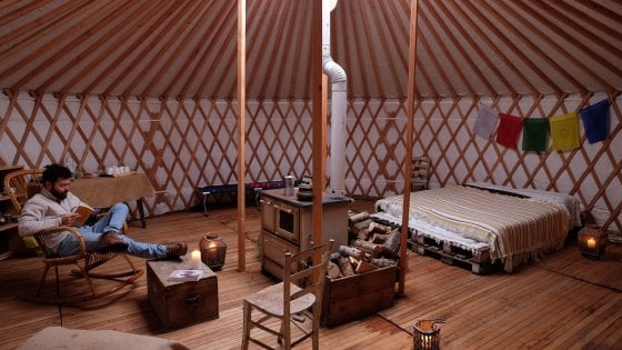 Marco, pastore nella yurta: ''Così ho battuto il terremoto''