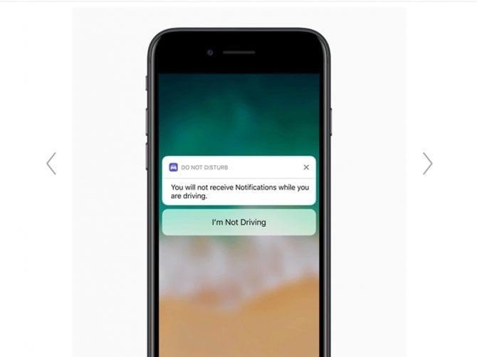 Apple, ecco l'App che blocca il cellulare alla guida