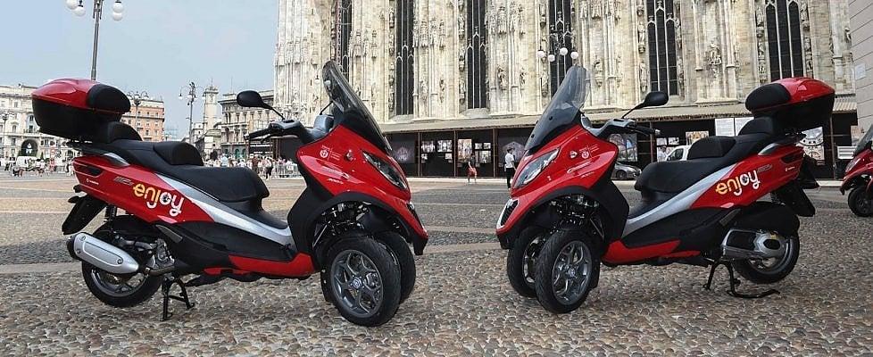 Addio scooter sharing, Enjoy manda in pensione il servizio