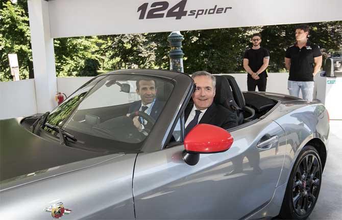 Fca al gran completo al salone dell'auto di Torino