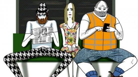 Madrid, è guerra al 'manspreading': vietato sedersi a gambe larghe sui mezzi pubblici
