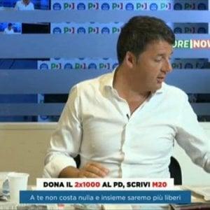 """Renzi: """"Non sono ottimista su nuovo accordo"""". E apre a Pisapia. Ma lui: """"Coalizione? Faccia le primarie"""""""