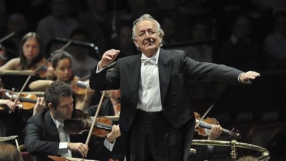 Yuri Temirkanov, il maestro  che le suonò all'Urss