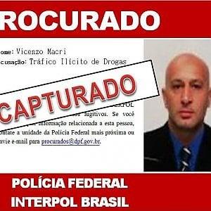 'Ndrangheta: catturato in Brasile Vincenzo Macrì, capo della cosca Comisso