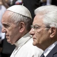 Papa Francesco al Quirinale, Mattarella: