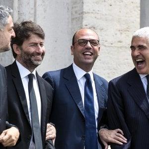 """Angelino Alfano: """"Inciucio franato, noi avanti con Gentiloni e con l'agenda Calenda"""""""