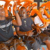 Balotelli, giornata di divertimento a Gardaland
