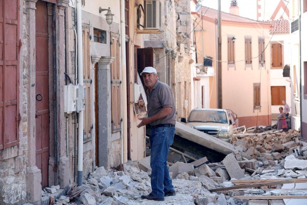 Grecia, terremoto al largo di Lesbo: magnitudo 6,2