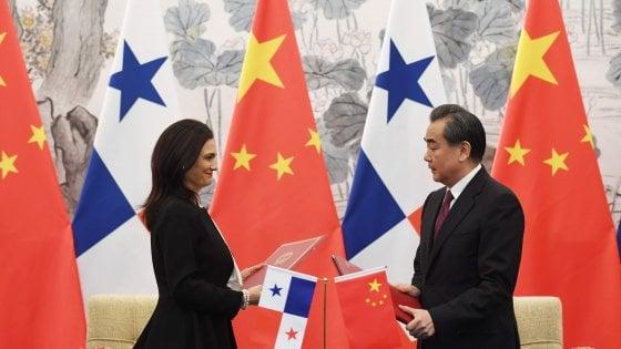 Cina, un colpo a Trump: cade la diga di Panama, Pechino conquista il Canale