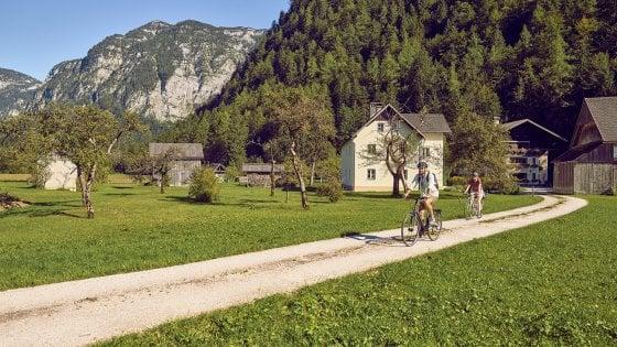 L'Austria d'estate,  un paese a misura di bici
