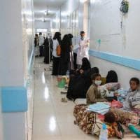 Yemen, 124.000 casi di colera, circa la metà sono bambini