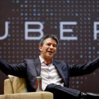 Travis Kalanick, lo squalo di Uber va in stand-by