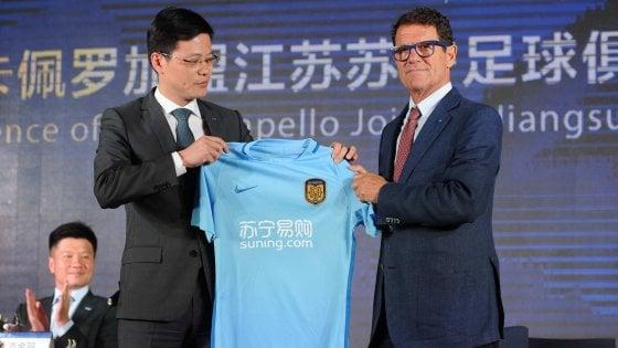 """Jiangsu, Capello si presenta così: """"Mi hanno tolto due scudetti vinti sul campo"""""""