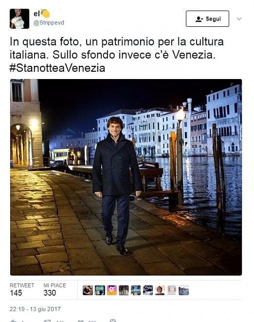 """""""Stanotte a Venezia"""", boom in tv e sui social per Alberto Angela"""