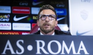 """Roma, ecco Di Francesco: """"Questa è la mia grande occasione"""""""