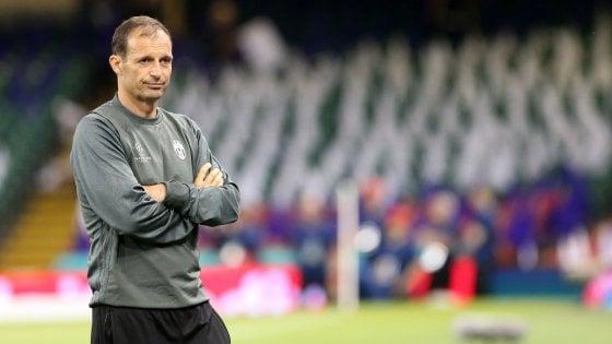 """Juventus, Allegri: """"Dopo Cardiff ho pensato di lasciare"""""""