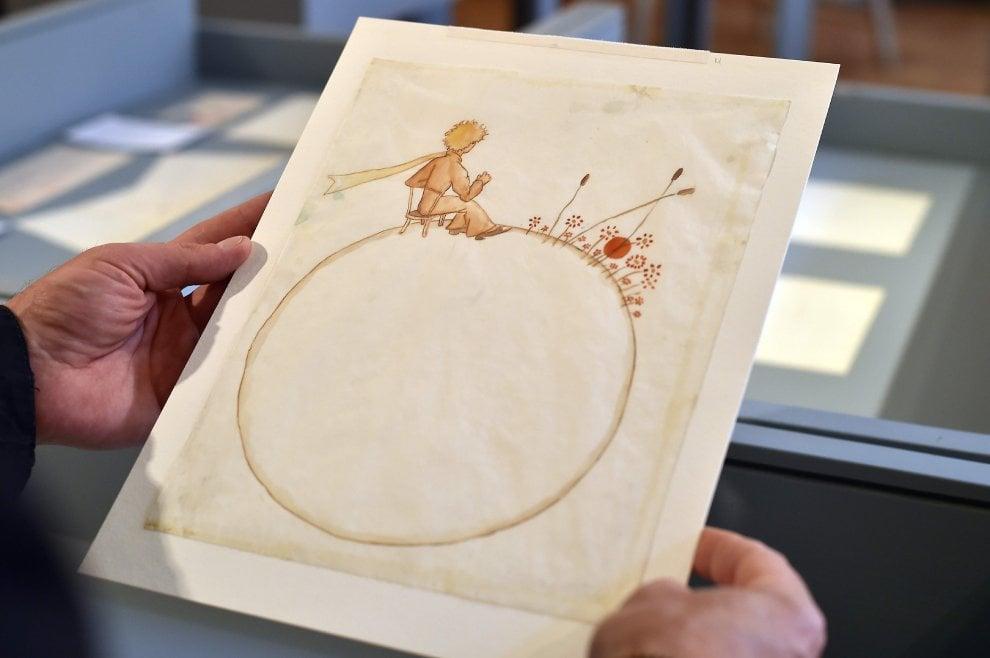 Parigi, asta record per due acquerelli del Piccolo Principe: venduti a 500mila euro
