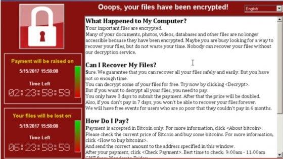 WannaCry, Windows rilascia aggiornamenti per i vecchi sistemi operativi