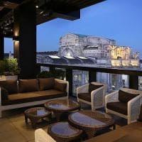 Milano: sulla terrazza del nuovo Hotel Gallia i colori della cucina napoletana