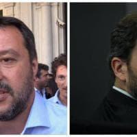 L'incontro Casaleggio-Salvini.