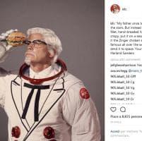 Kfc: pollo fritto nello spazio