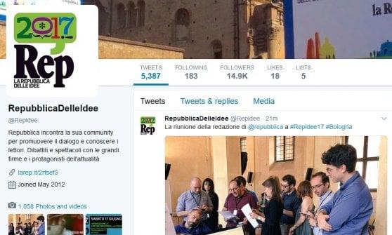 RepIdee a Bologna, ecco come seguirci sui social